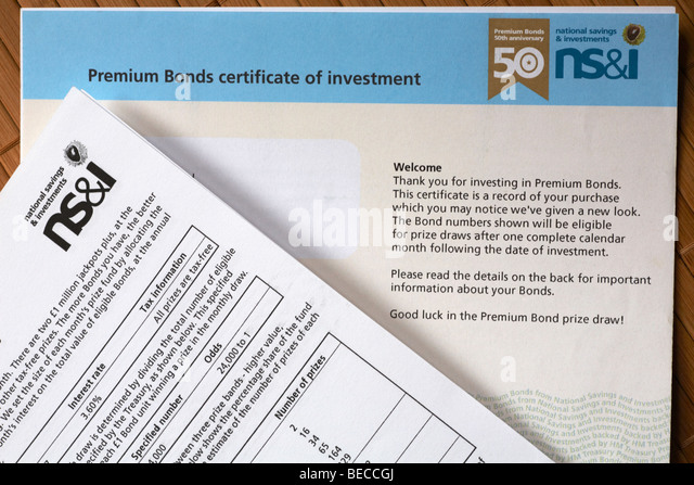 Savings bonds stock photos savings bonds stock images - Buying premium bonds from post office ...