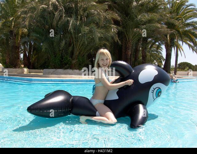 Girl Water Bikini Pool Bath Stock Photos Girl Water Bikini Pool Bath Stock Images Alamy
