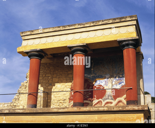 palace at knossos grete and bull leaping Bull leaping fresco - picture of knossos archaeological site,  ancient palace of knossos tour  it really is worth going to knossos while in eastern grete.