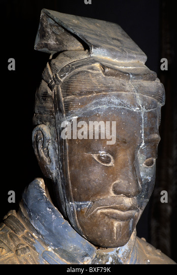 Terracotta Warrior In The Tomb Of Qin Shi Huangdi XiAn China