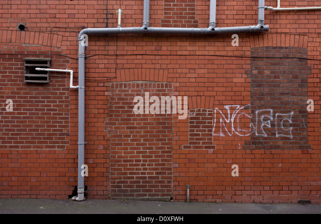 A bricked-up doorway and windows with football graffiti in a vacant retail building during & Blocked Windows Stock Photos \u0026 Blocked Windows Stock Images - Alamy Pezcame.Com
