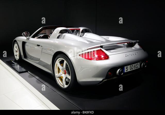 Amazing Beau Porsche Carrera GT, New Porsche Museum, 2009, Stuttgart, Baden  Wuerttemberg,