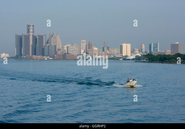 Detroit river stock photos detroit river stock images for Detroit river fishing