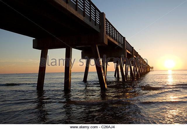 Jacksonville Florida Atlantic Beach Stock Photos