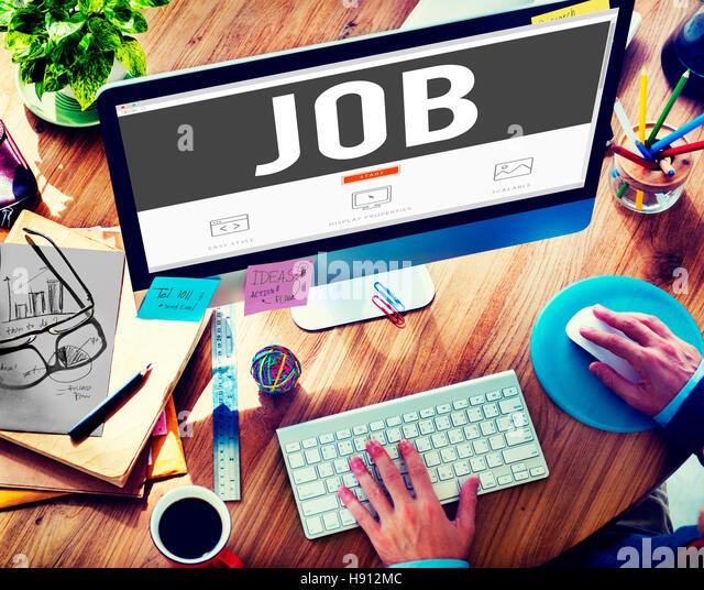 Job Employment Career Occupation Goals Stock Photos & Job ...