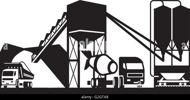 Concrete Clip Art : Carload stock photos images alamy