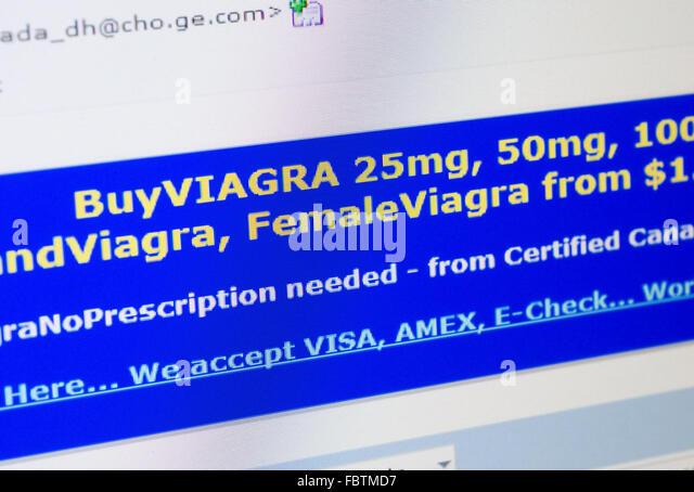 Viagra spam email