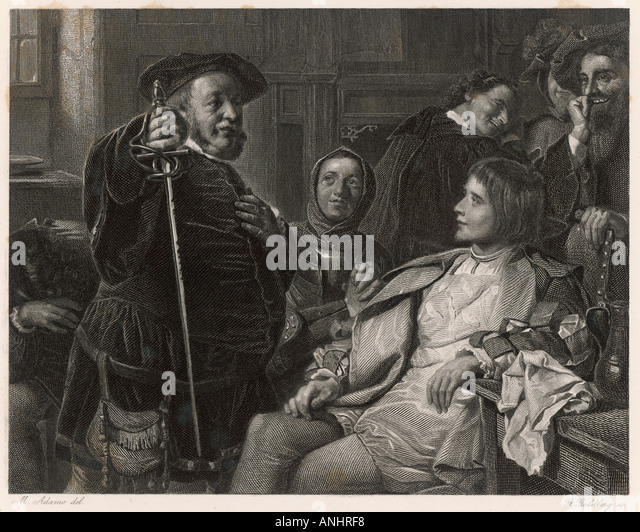 sir john falstaffs influence on prince hal in henry iv by william shakespeare Influences the major character and considerably advances the plot in i henry iv  by william shakespeare, falstaff is such a character sir john falstaff is.