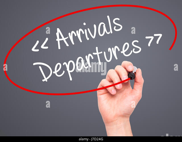arrivals and departures essay Category: essays research papers title: aviation weather delays  of  transportation strictltly controlled the amount of flights an airline could schedule  and the.