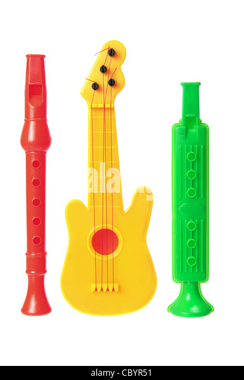 Toy Musical Instruments : Musical instruments stock photos