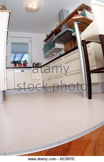 moderne wohnkche modern kitchen stock image - Moderne Wohnkche