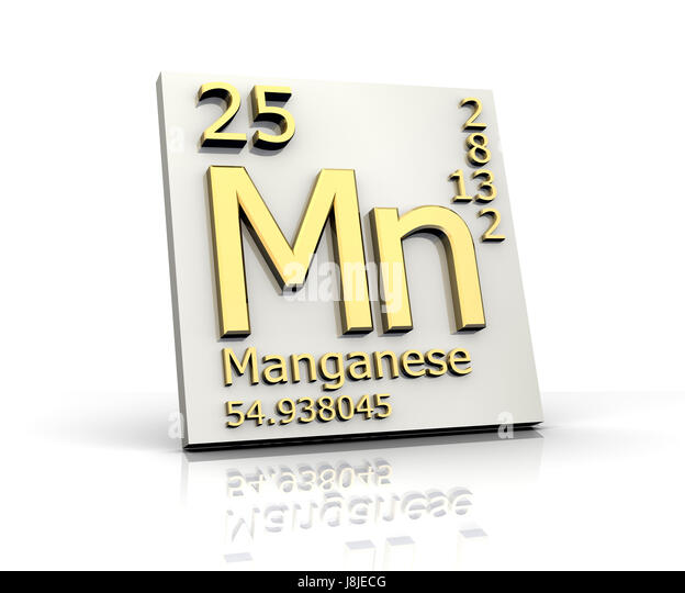 Periodic table element manganese mn stock photos periodic table element manganese periodical periodic table study board education urtaz Image collections