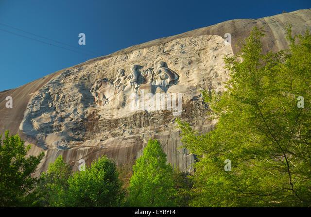 Stone mountain park georgia stock photos