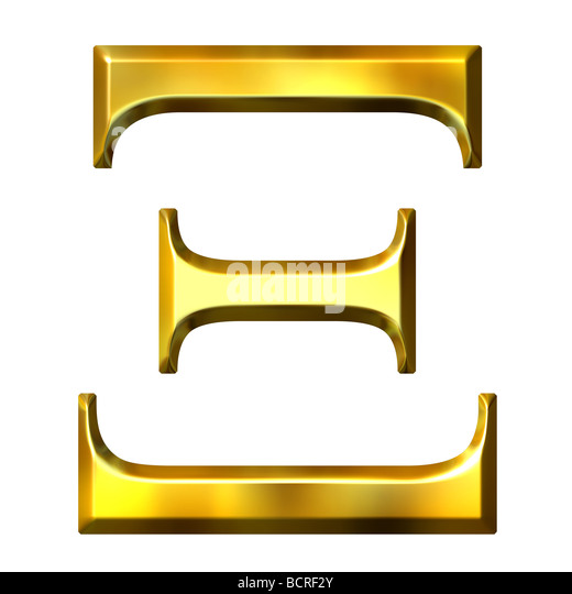 Letter xi stock photos letter xi stock images alamy 3d golden greek letter xi stock image spiritdancerdesigns Image collections