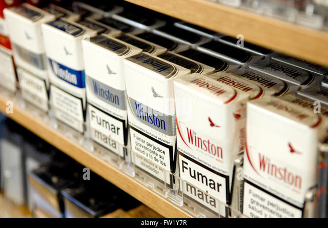 Cigarettes Kool labels Finland
