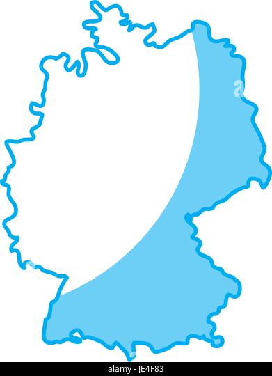 Germany Map City Stock Photos Germany Map City Stock Images Alamy - Germany map clipart