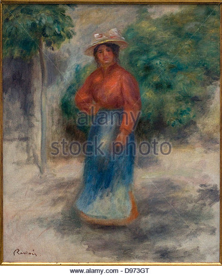 Gabrielle stock photos gabrielle stock images alamy for Auguste renoir paris