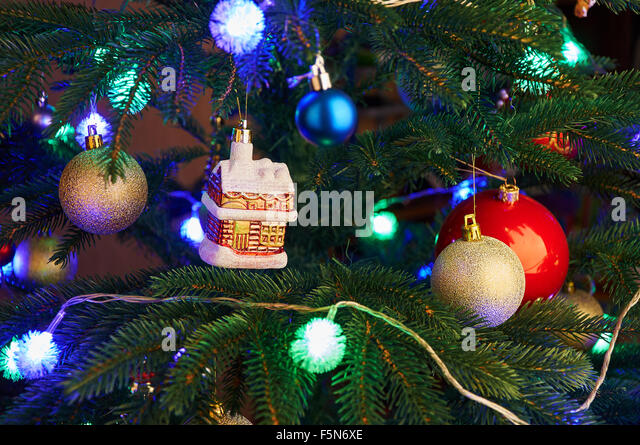 New year tree decorations stock photos new year tree for Christmas decoration 94
