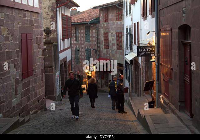 Compostela camino walkers stock photos compostela camino - St jean pied de port to santiago distance ...
