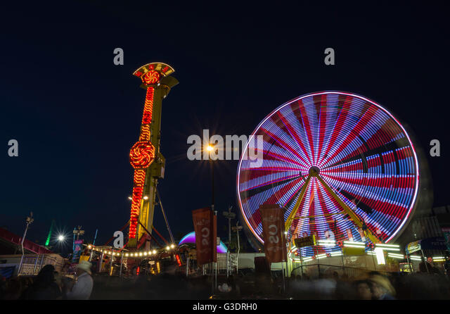 Midway Rides Stock Photos Amp Midway Rides Stock Images Alamy