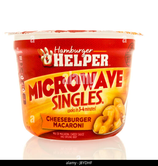 Hamburger helper singles Hamburger Helper Microwave Singles Cheeseburger Macaroni