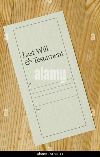 last will form