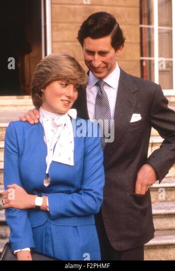 Princess Diana And Prince Charles Engagement