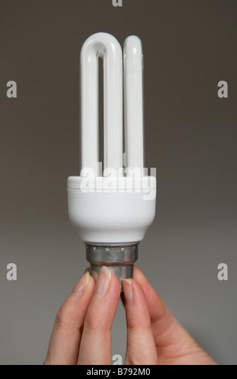 An energy efficient low energy light bulb . - Stock Image & Low Energy Light Bulbs Stock Photos u0026 Low Energy Light Bulbs Stock ... azcodes.com