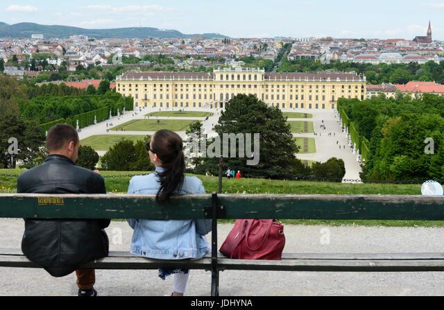 Austria. Vienna. Schönbrunn Palace - Stock Image