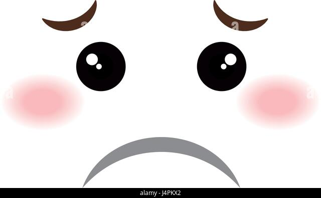 Sad Face Emoticon Cut Out Stock Images Pictures Alamy