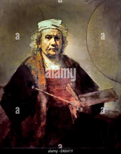 Rembrandt Self Portrait Stock Photos & Rembrandt Self Portrait ...