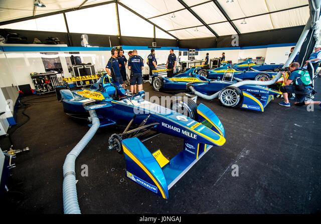 Slick Electric Race Cars Stock Photos Slick Electric Race Cars
