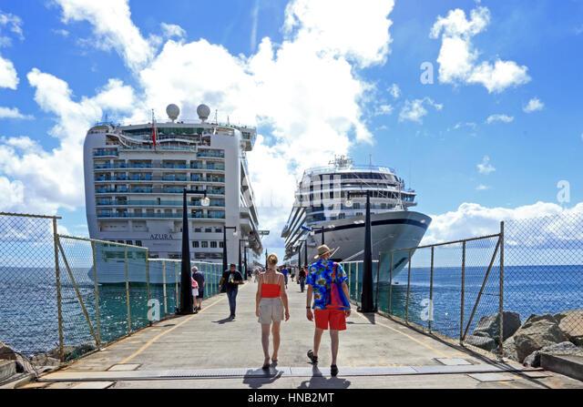 Azura cruise stock photos azura cruise stock images alamy for Port zante st kitts
