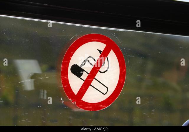 No smoking sticker stock photos no smoking sticker stock for Plage stickers uk