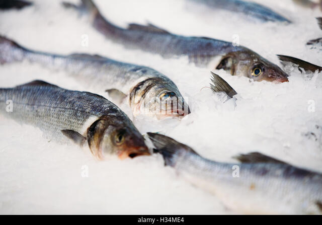 Store shop spain stock photos store shop spain stock for Fresh fish store near me
