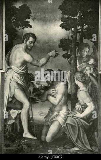 Baptism Of Jesus Christ Painting