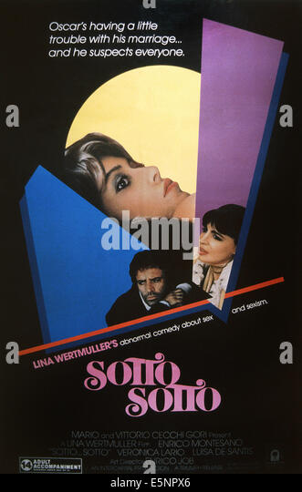 an analysis of a scene in sotto sotto a film by lina wertmller In her 10th feature film, ``sotto    sotto,`` director lina wertmuller masterfully extrapolates a brutal comedy from the throes of passion the film.