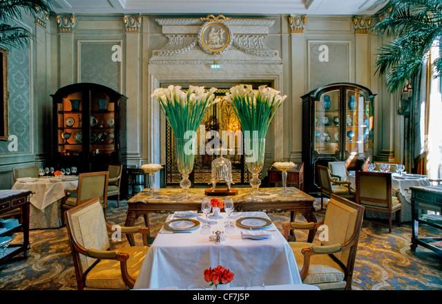 Fancy restaurant stock photos