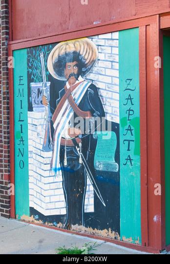 Emiliano zapata stock photos emiliano zapata stock for Emiliano zapata mural
