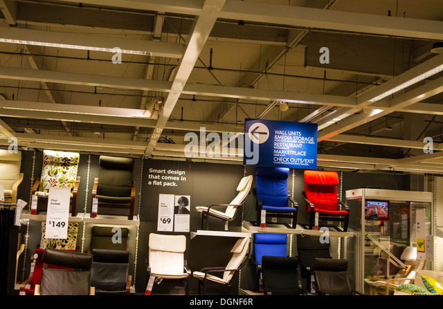 Ikea store in burbank in stock photos ikea store in for Furniture stores in burbank