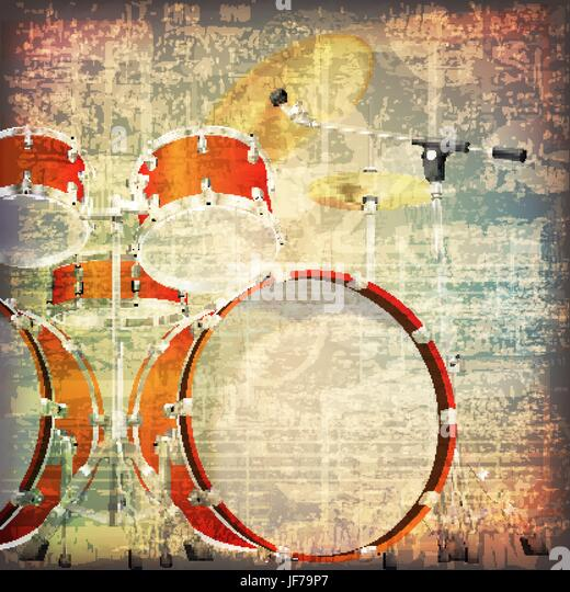 Drum Kit Stock Vector Images - Alamy