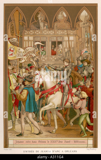 an introduction to the history of jeanne darc the maid of orleans Joan of arc: facts & biography by owen jarus,  or jeanne d'arc in  one of history's great mysteries is how a teenage girl hearing voices and claiming to be.