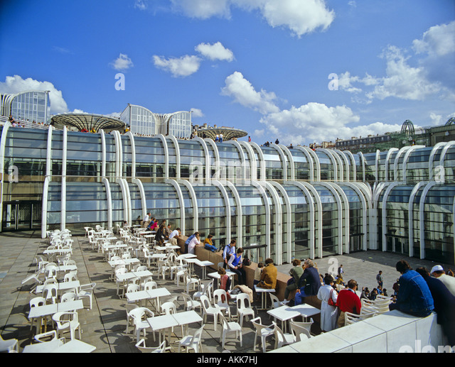 Shopping centre les halles paris stock photos shopping centre les halle - Les halles paris shopping ...