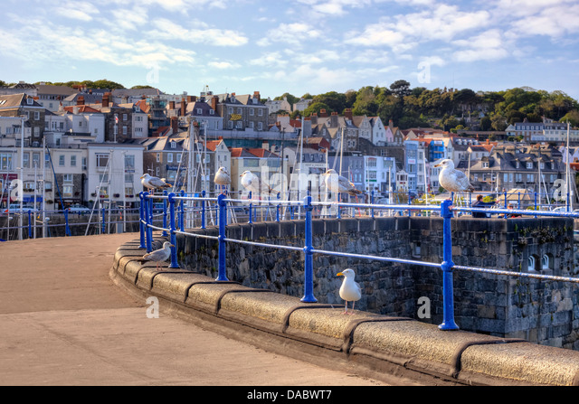 St Peter Port United Kingdom  city pictures gallery : Guernsey St Peter Port Stock Photos & Guernsey St Peter Port Stock ...
