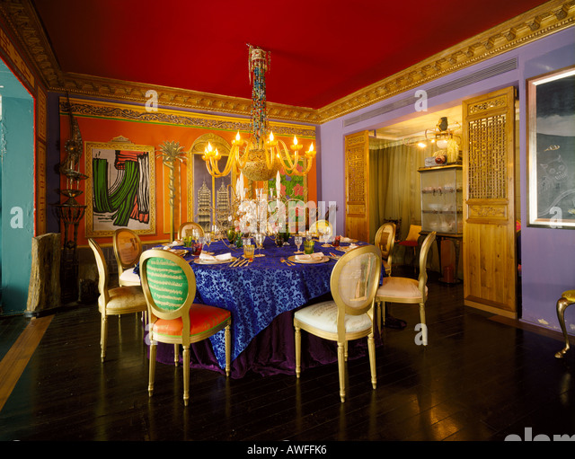 Chinoiserie stock photos chinoiserie stock images alamy for Dining room hong kong