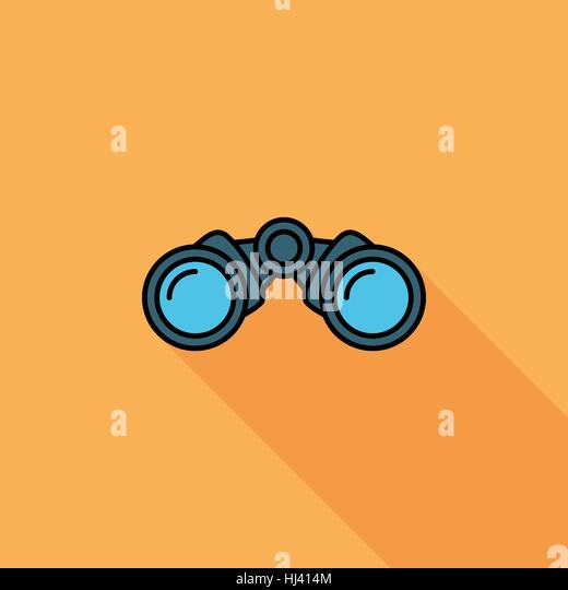 binoculars icon vector - photo #13