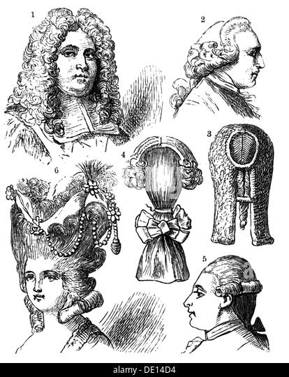 Different Hair Styles Stock Photos Different Hair Styles Stock - Different hair style drawing