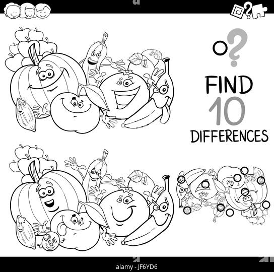 Find the difference stock photos find the difference stock images find the difference coloring page stock image thecheapjerseys Images