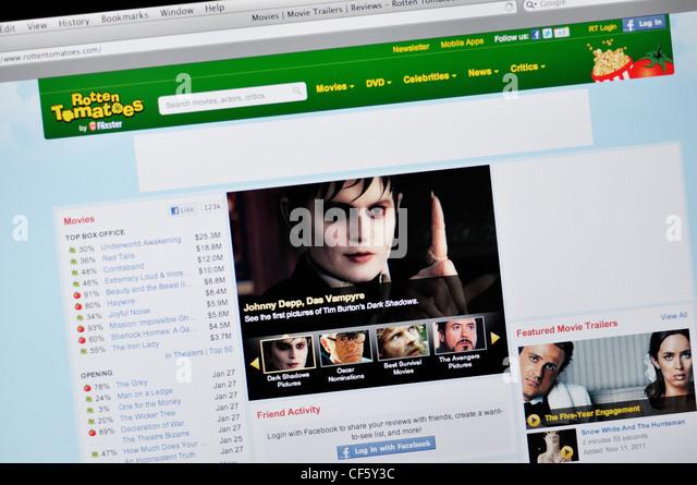 Film review website