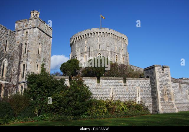 Queen Elizabeth Windsor Castle Stock Photos Queen